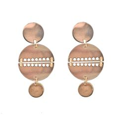 Narcissus Mirror Charm Earrings