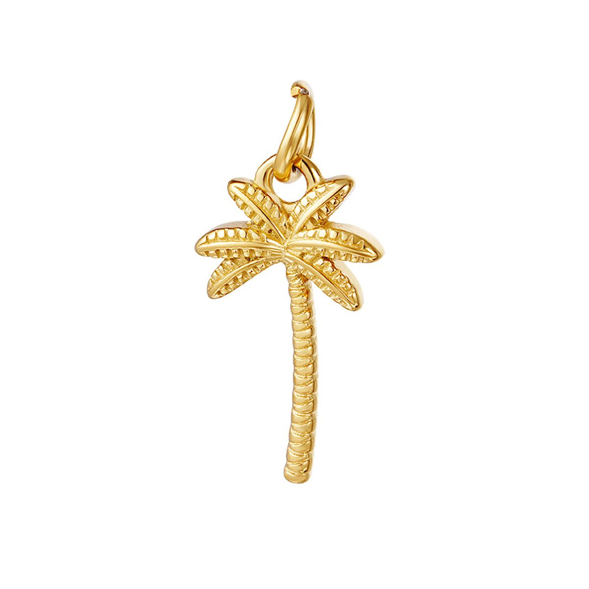 Vintage Inspired Palm Charm