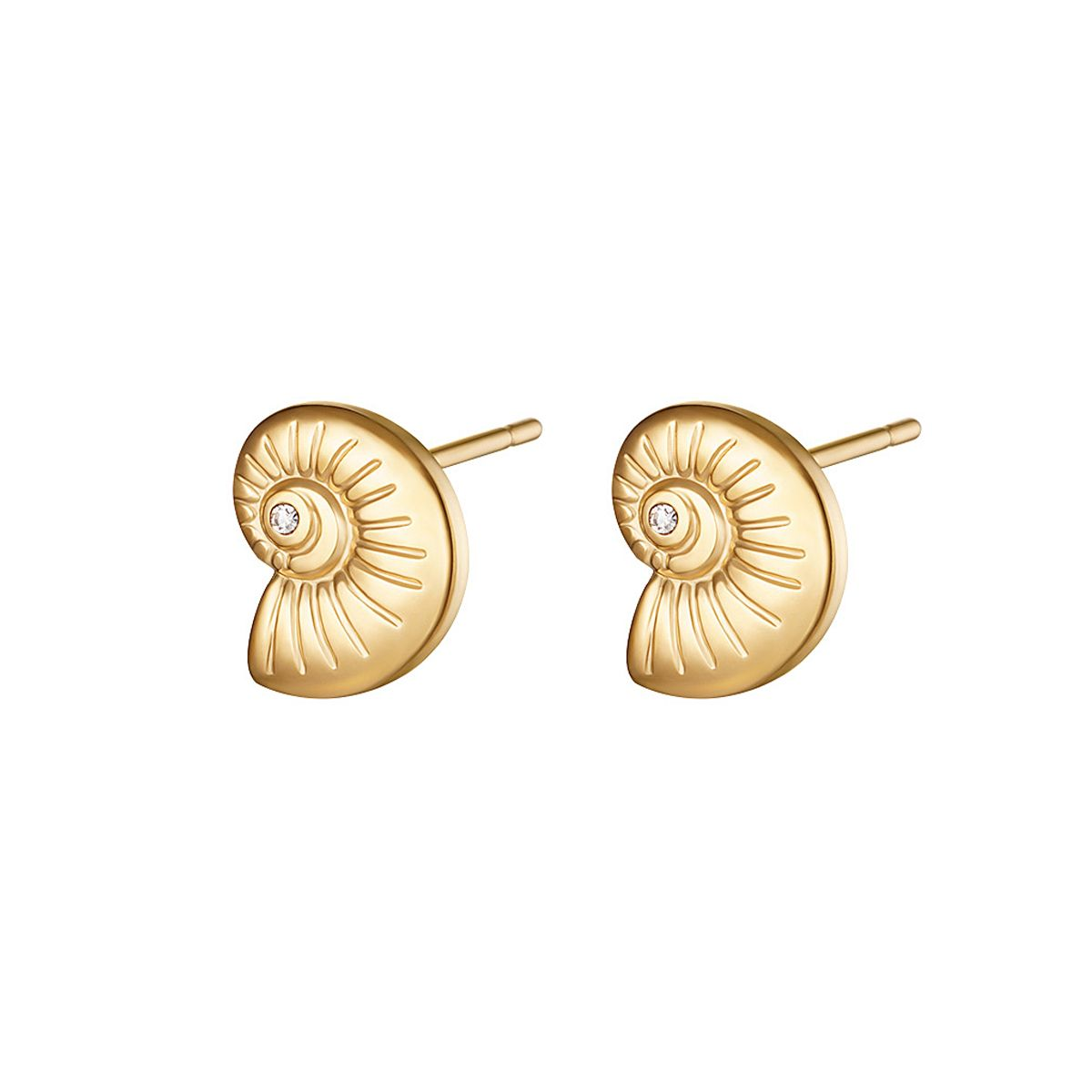 Twisted Shell studs